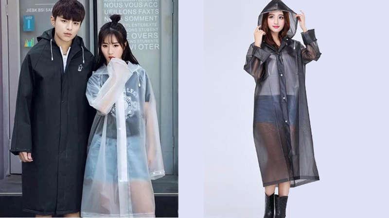 Lạ mắt các kiểu áo mưa gây bão thời gian qua